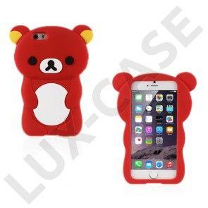 Teddy (Rød) iPhone 6 Cover