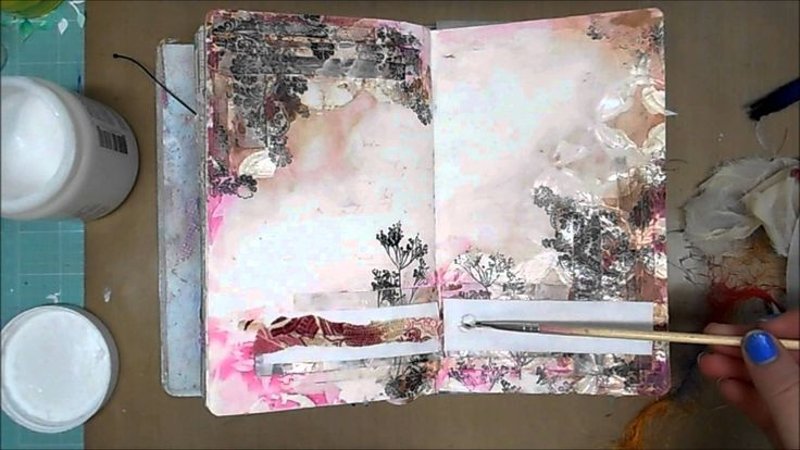 Art Journal Page #29 I am going to try from now on to put new videos out every Monday. So please come back and check them out! Thank you so much for watching...