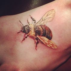 ... Tattoos on Pinterest | Bee tattoo Multiple sclerosis and 3d tattoos
