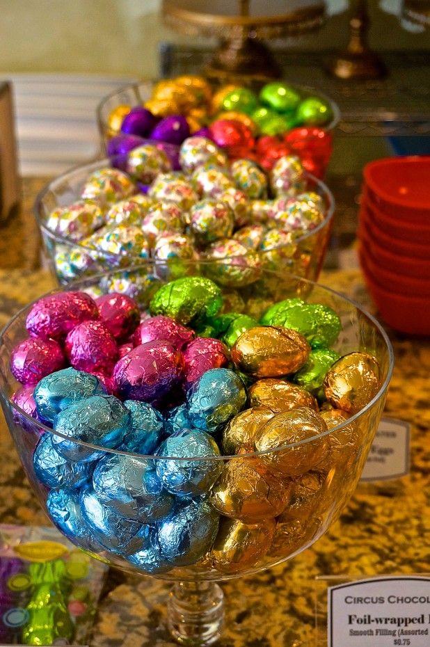 Easter Eggs - Circus Chocolates