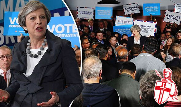 VOTE MAY OR WE FACE DISASTER: The Daily Express urges you to back the Conservatives