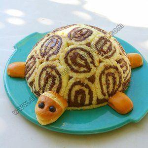 Gertrude la tortue gateau