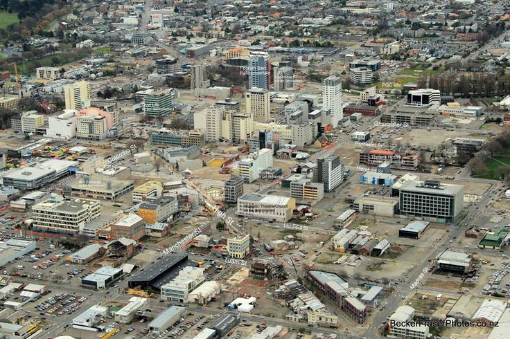 Christchurch city post earthquake