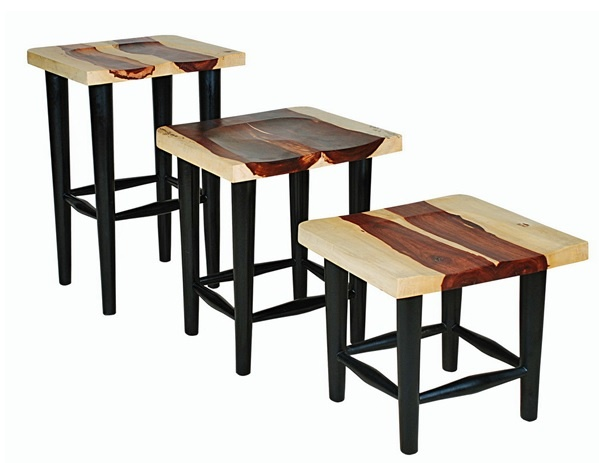 contemporary rustic furniture. We Handcraft Contemporary Rustic Solid Wood Bar Stools. Furniture N