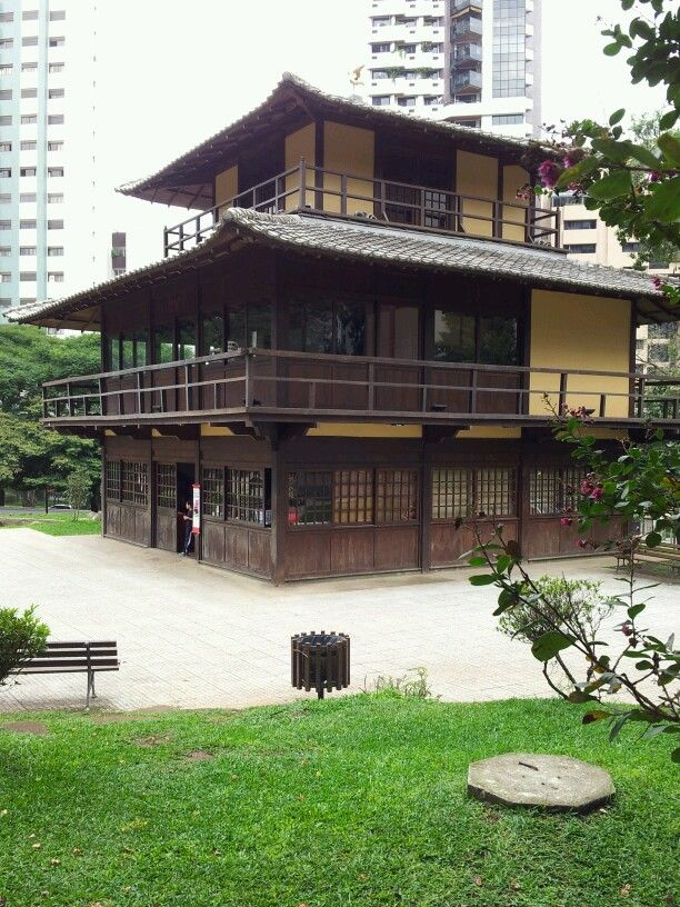 Casa japonesa de arte e cultura casas japonesas pinterest for Casa moderna japonesa