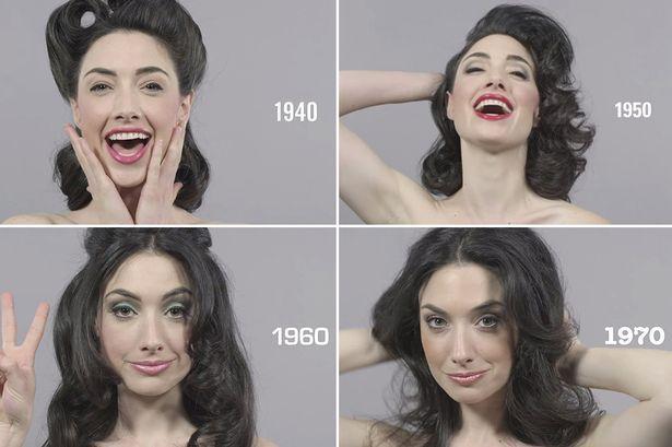"""Viral / """"100 Years of Beauty in 1 Minute"""": l'evoluzione della bellezza nello scorso secolo"""