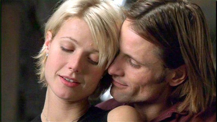 Gwyneth Paltrow and Viggo Mortensen in A Perfect Murder, 1998