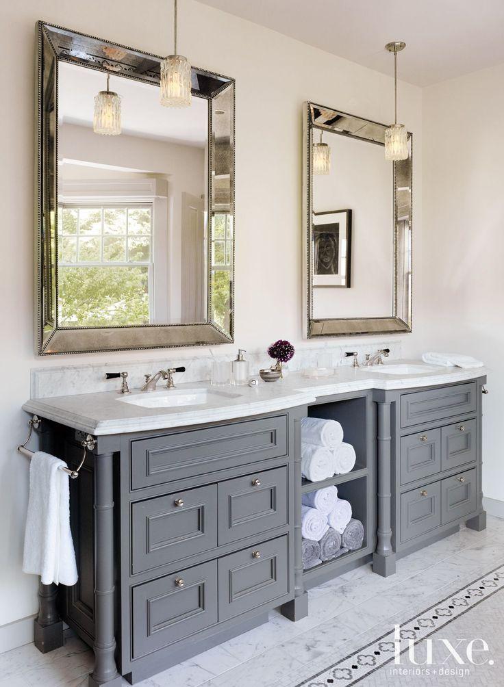 1732 best bathroom vanities images on pinterest master on vanity bathroom id=77056