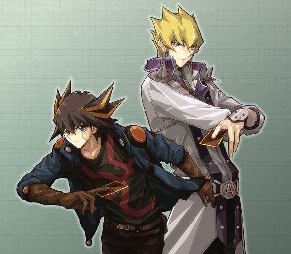 Tal vez no seamos los mejores amigos pero somos los mejores compañeros  / cuando me necesites ahí estaré /  ~ Yusei & Jack ~  / Yu-Gi-Oh 5D