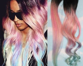 The 25 best pink hair extensions ideas on pinterest pale pink light pastel dip dyed hair clip in hair extensions by cloud9jewels pmusecretfo Images