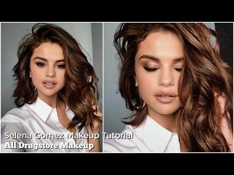Selena Gomez Makeup Tutorial | All Drugstore Makeup - YouTube