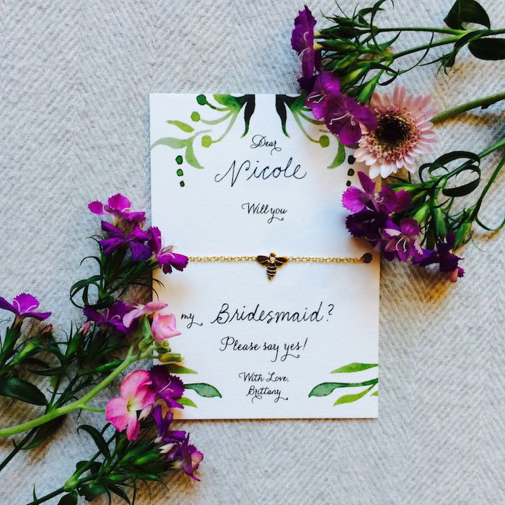 From a Bride to Her Bridesmaids