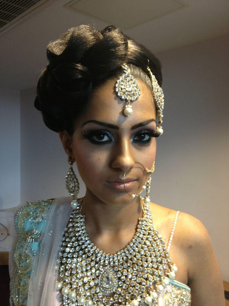 Wedding makeup by Arpita Karania Training courses available Call 07957211218