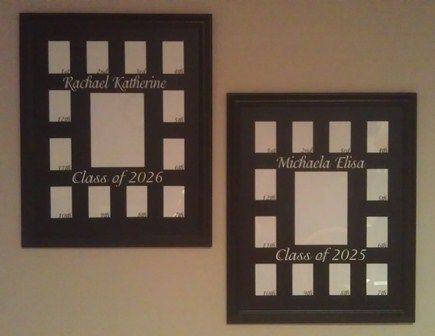 SCHOOL YEARS  Picture Frame