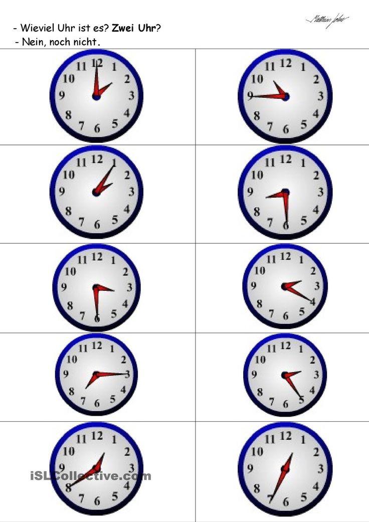 Uhr Lernen Kostenlos