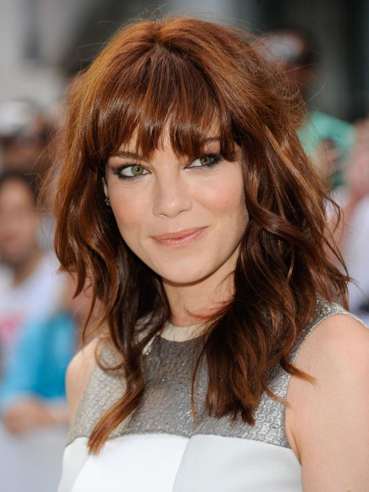 medium haircuts with bangs 244 best monaghan images on 9627