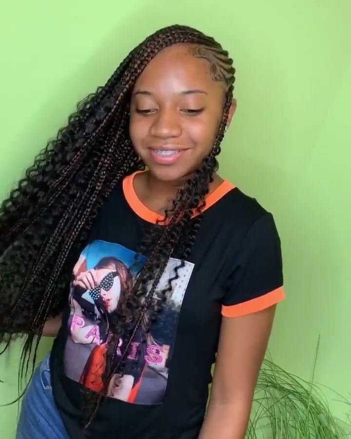 Sew Ins For 13 Year Olds : Lemonade, Braids, Videos, Pin|@nylaanylaa, Hairstyles,, Black, Hair,, Braid