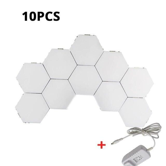 Led Hexagonal Touch Sensitive Lights In 2020 Wall Lights Led Wall
