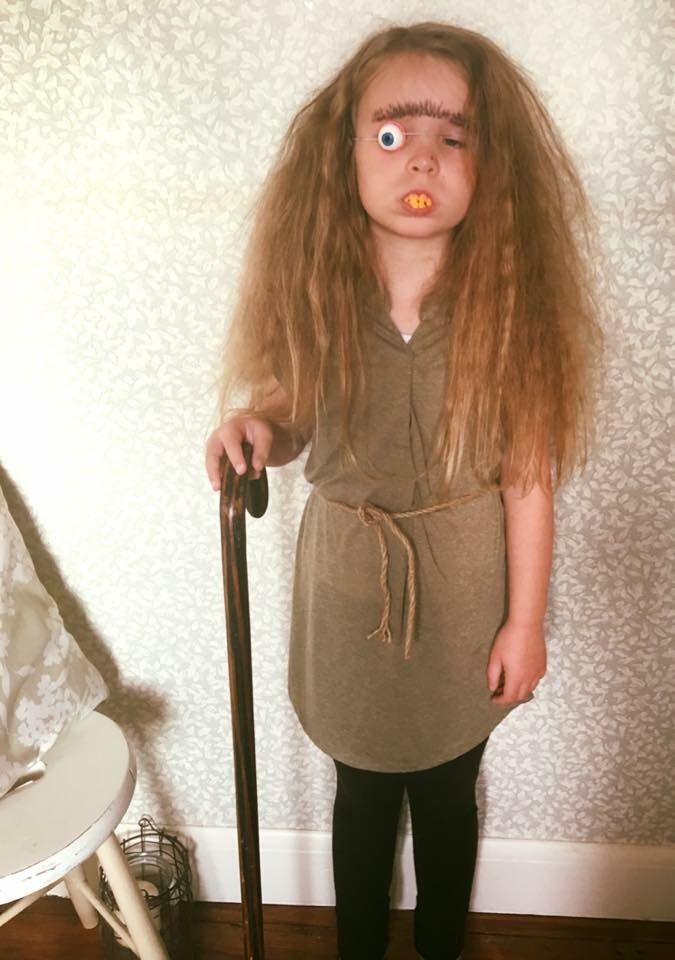 Mrs Twit costume, World Book Day.