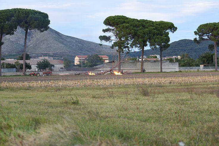Via Garibaldi, 'abbattuti' due alberi secolari - LE FOTO a cura di Redazione - http://www.vivicasagiove.it/notizie/via-garibaldi-abbattuti-due-alberi-secolari-le-foto/