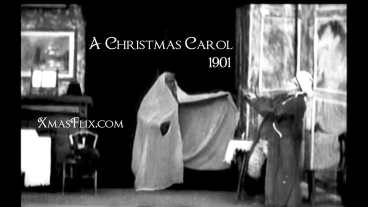 "Scrooge (or Marley's Ghost) (1901) ""A Christmas Carol"" [First Silent Movie]"