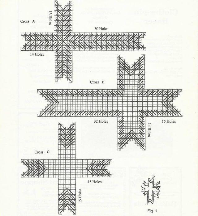 STARBURST CROSS by SHERRY SHAFFER 3/3