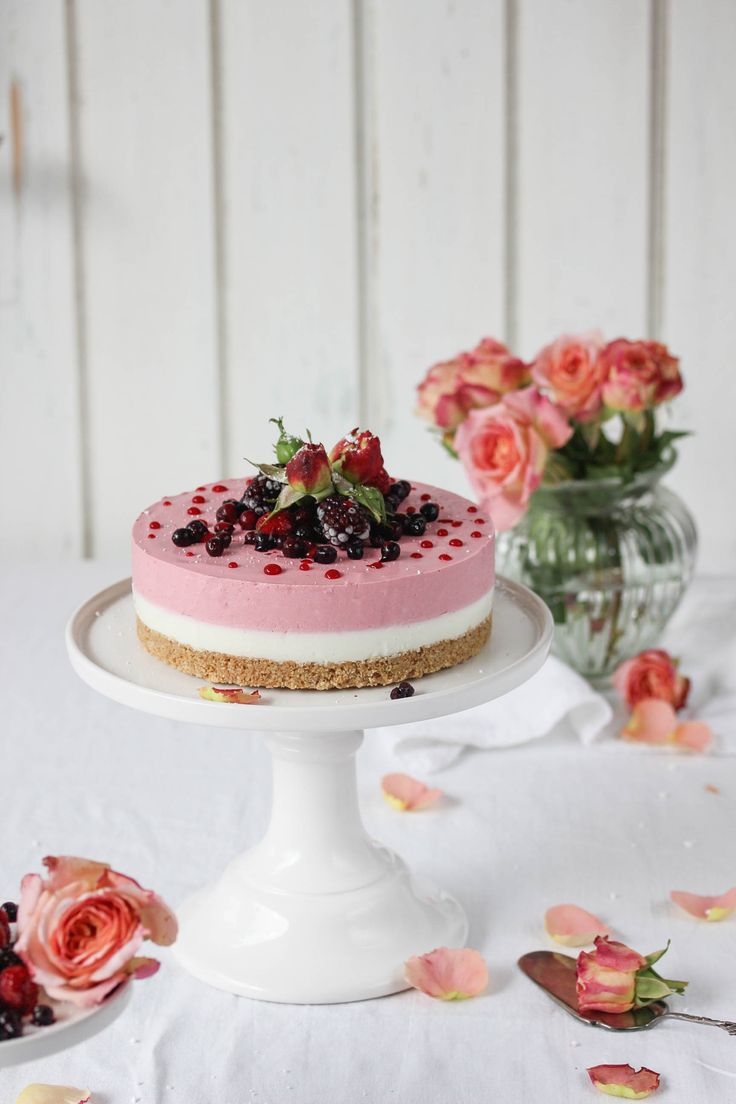 Mascarpone-Töpfen-Torte
