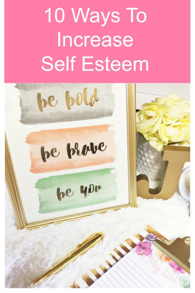 10 Ways To Increase Self Esteem