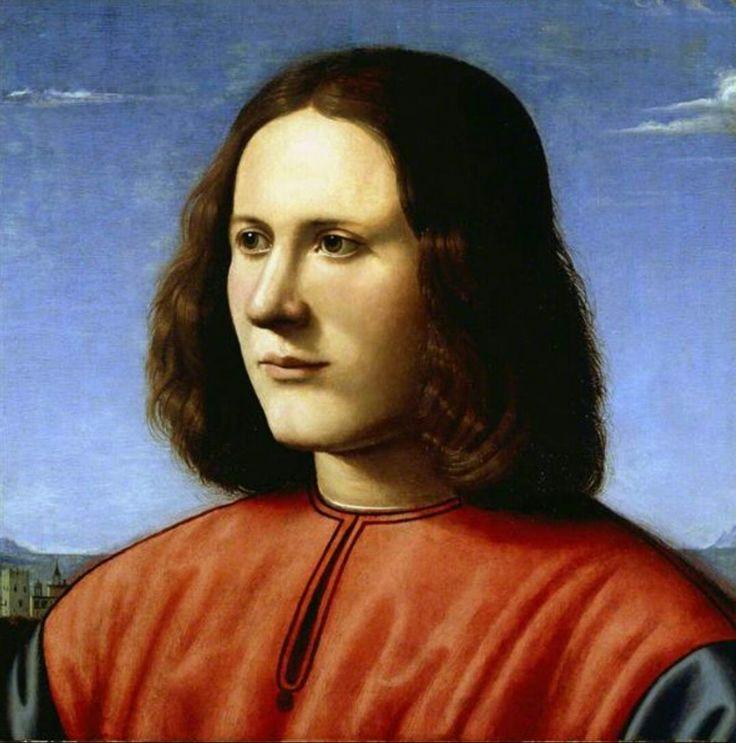 1490-1505. Olio su tavola.  40x39 cm. Dulwich Picture Gallery