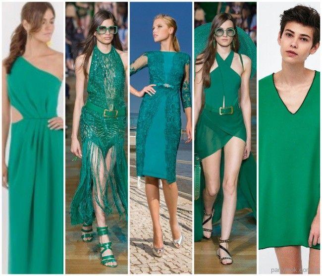 Moda Colores De Vestidos De Fiesta Verano 2019 Tendencia