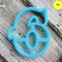 """Cookie cutter """" Number 6 """" 10 cm"""