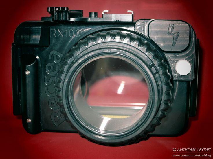 Caisson étanche RECSEA pour appareil photo Sony RX-100 !
