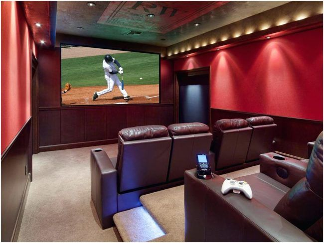 The Dirty Truth About Small Home Theater Room Ideen Check More At Http://