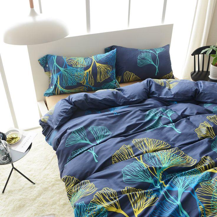 Blue Duvet Cover Set 100 Egyptian Cotton Bedding Sets
