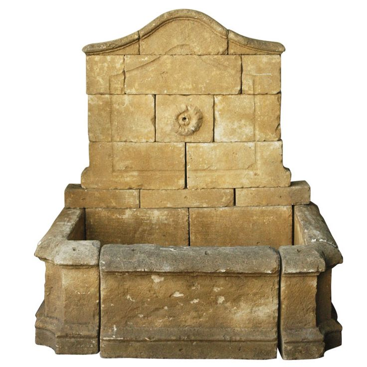 Large French Stone Fountain at 1stdibs