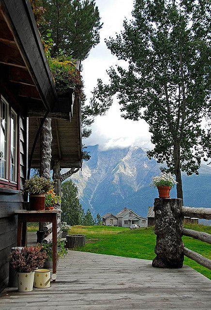 Norwegian mountain view