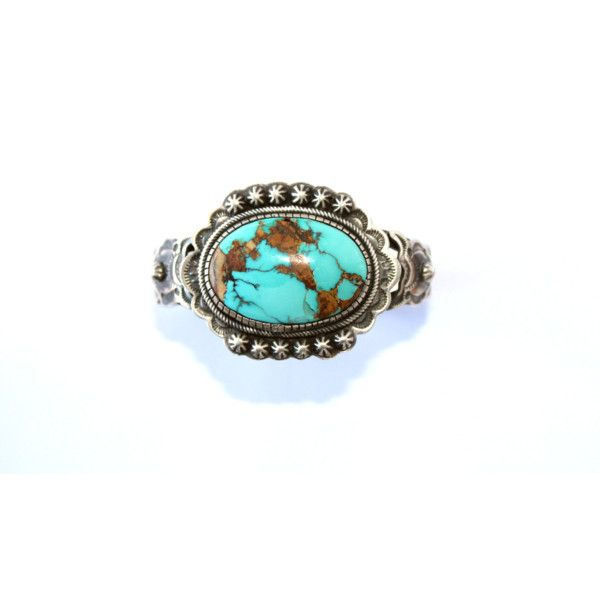 Two Grey Hills Royston Turquoise Cuff Cowgirl Kim ($1,980) ❤ liked on Polyvore featuring jewelry, bracelets, western turquoise jewelry, blue turquoise jewelry, chunky turquoise jewelry, western jewelry and cowgirl jewelry