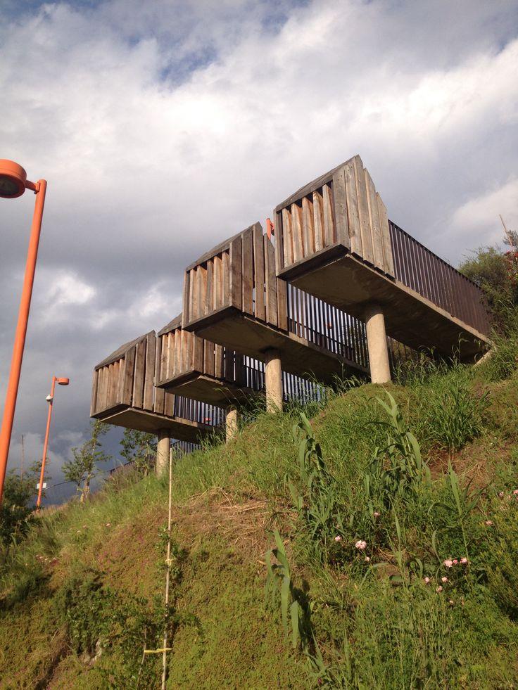 Parque de la infancia, elemental, recoleta, Santiago de Chile. Arquitectura chilena