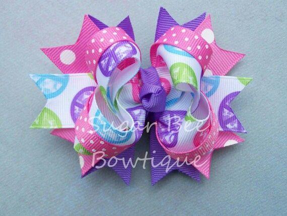 10 best modelo 30 lazos ni as images on pinterest ribbons hair bows and neck ties - Diademas para ninas ...