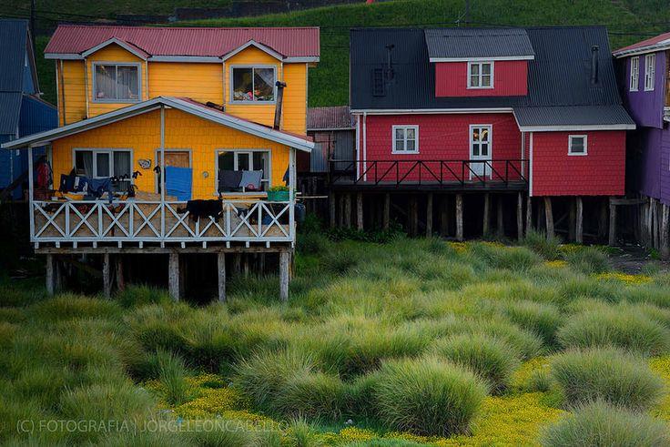 Palafitos - Castro (Isla de Chiloe)