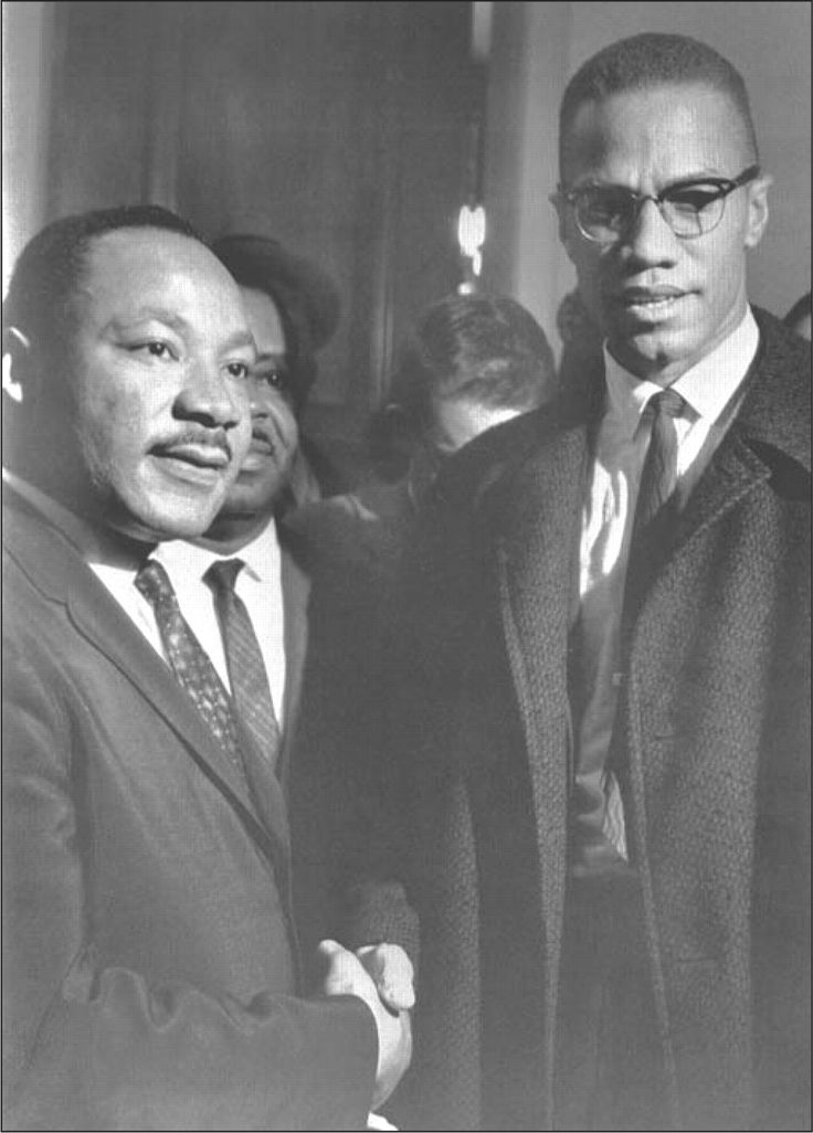 an introduction to the comparison of martin luther king jr and malcolm x 1 comparison and contrast outline: martin luther king and malcolm x thesis: in their effort to improve the lives of african americans, mlk and malcolm x employ the.