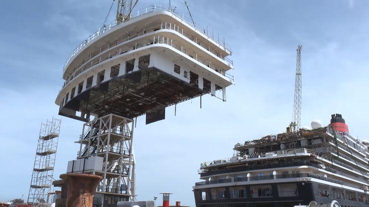Cunard, restyling Queen Victoria: il dietro le quinte da Fincantieri Palermo | Dream Blog Cruise Magazine