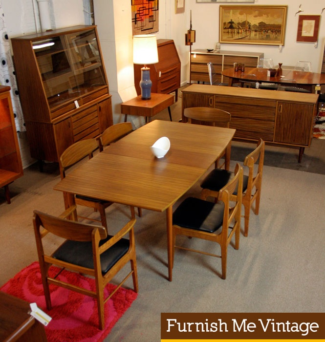 Mid Century Stanley Dining Room Set   Google Search