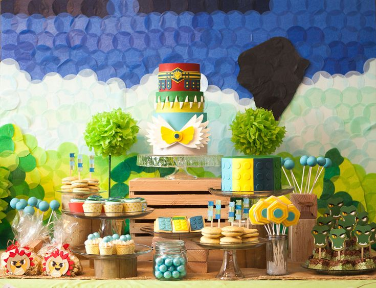 Lego Chima Party - Cake Paper Party
