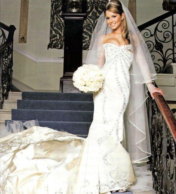 Cheryl Cole Wedding Hairstyle: 74 Best Celebrity Brides Images On Pinterest