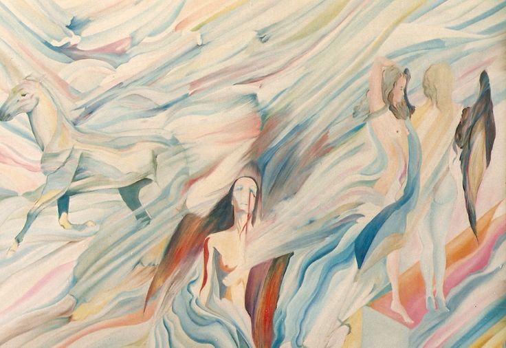 """""""lost freedoom"""", oil on canvas"""
