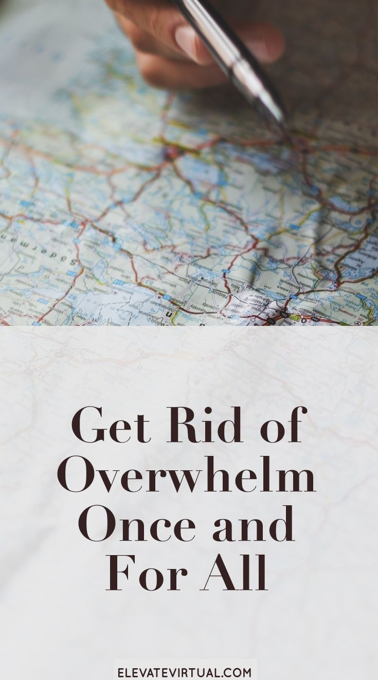 Stop running your business in a constant state of stress! Click here to learn how to get rid of the overwhelm...