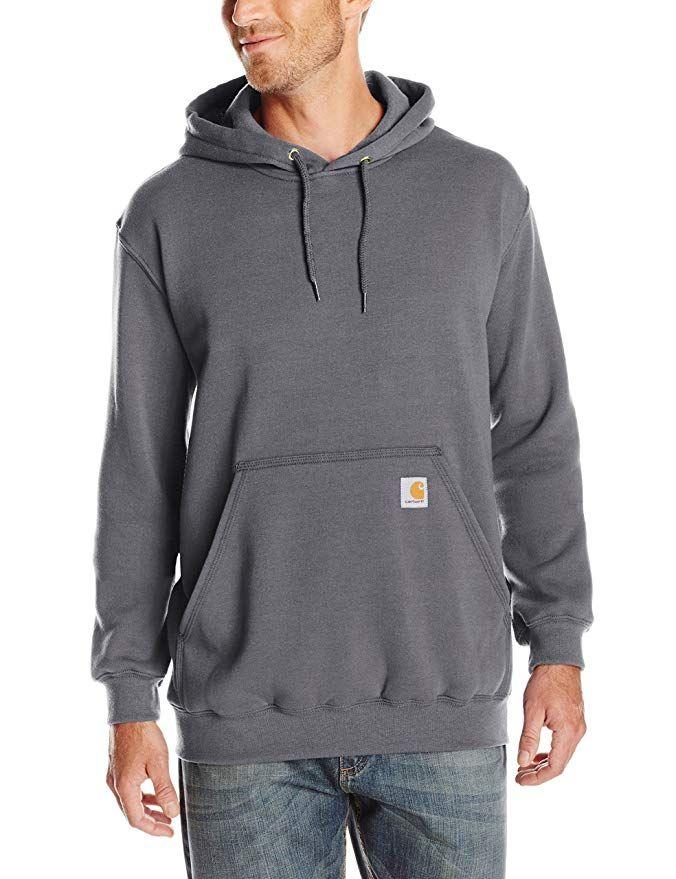 84d0206e3c1e Carhartt Men s Midweight Original Fit Hooded Pullover Sweatshirt K121 Review