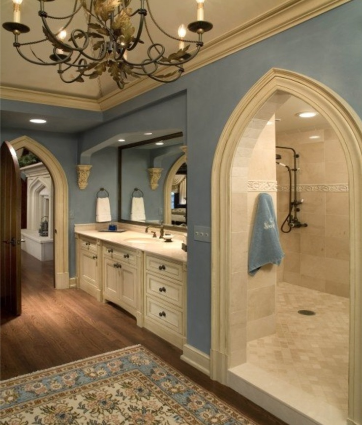 33 best beautiful bathrooms images on pinterest for Beautiful bathrooms