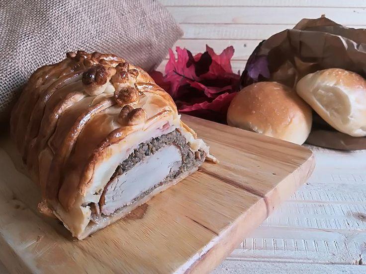 Il filetto di maiale in crosta di brisée è un secondo sfizioso e facile, che ho deciso di preparare in occasione di queste prossime feste.